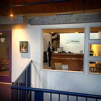 Fredericksburg Office Location interior shot