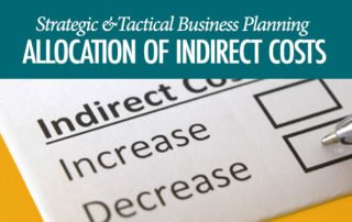 Allocation Indirect Costs