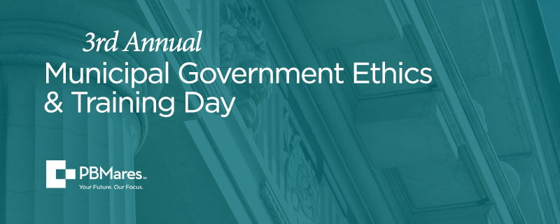 Municipal Government Ethics Training