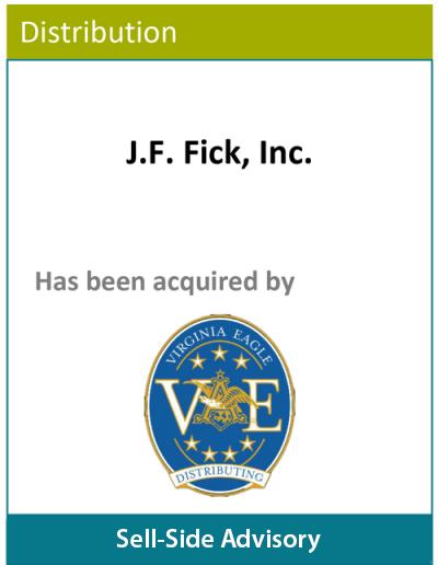 PBMares Sell Side Advisory J.F. Fick, Inc.