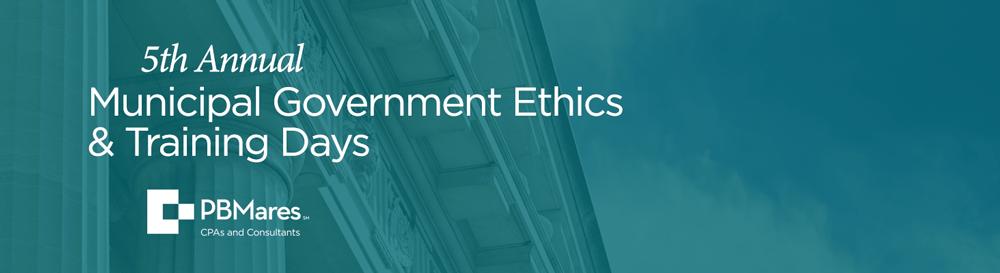 Municipal Government Ethics Training 2021